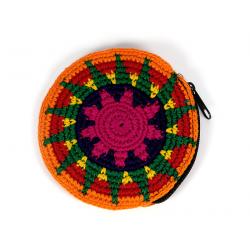 Peněženka - kulatá, háčkovaná (Guatemala) - 9