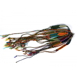 Pletený náramek z Guatemaly - S