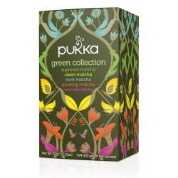 Pukka čaj Kolekce zelených čajů, 20 sáčků