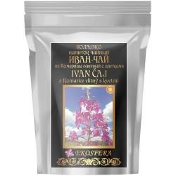Ivan čaj z listů a květů vrbovky úzkolisté