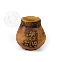 Kalabasa hliněná Mezoamerika Acatitlán