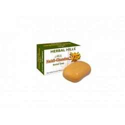 Mýdlo se santalem a kurkumou, 100 g