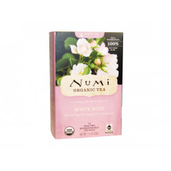 Numi čaj bio Bílý s poupaty bílých růží, 16 sáčků