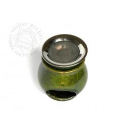 Vykuřovací pícka - aromalampa RAKU zelená