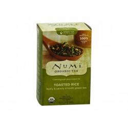 Numi zelený čaj s praženou rýží, 18 sáčků