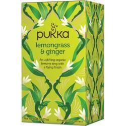 Pukka čaj Lemongrass se zázvorem