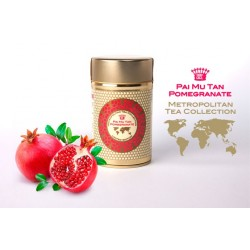 Metropolitan sypaný čaj bílý Pai Mu Tan s granátovým jablkem, 35 g