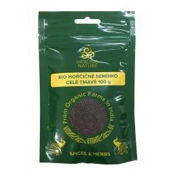 HN BIO Hořčičné semínko celé tmavé, 100 g