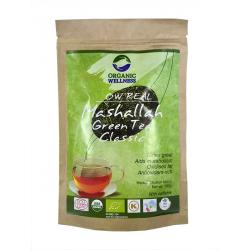 BIO TULSI ZELENÝ MASHALLAH - cestovní balení (náplň), 100 g