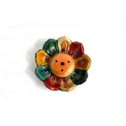 Stojánek Tibet/keramika - lotosový květ