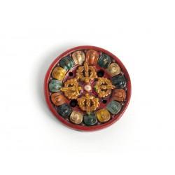 Stojánek Tibet/keramika - dordže