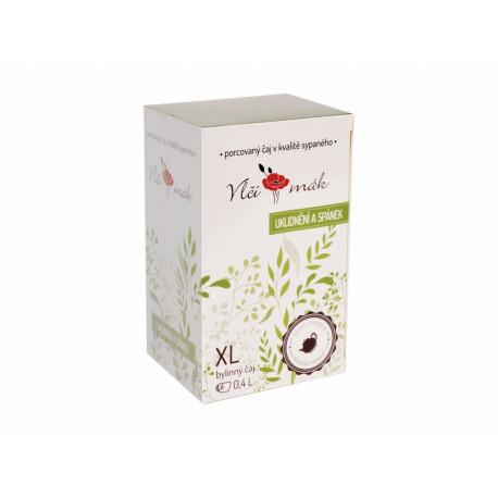 XL čaj Uklidnění a spánek, 20 sáčků