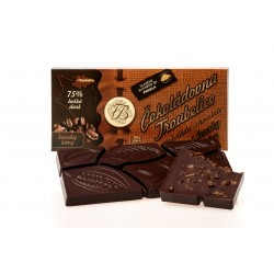 Čokoláda hořká75% s KÁVOVÝMI ZRNY, 45g