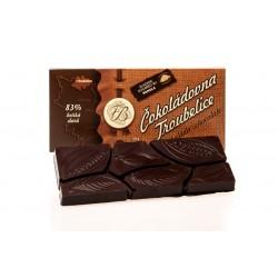 Hořká čokoláda 83%