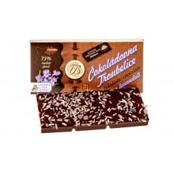 hořká čokoláda 75% s levandulí, 45g
