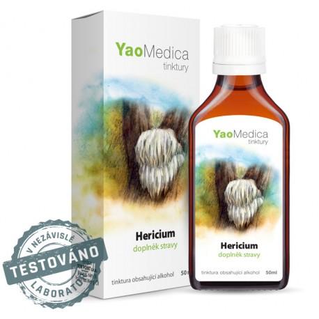 Hericium - tinktura z medicinálních hub
