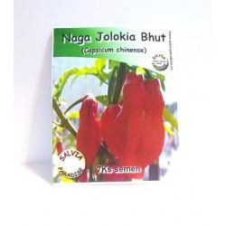 Chilli Naga Jolokia Bhut semena 7 Ks
