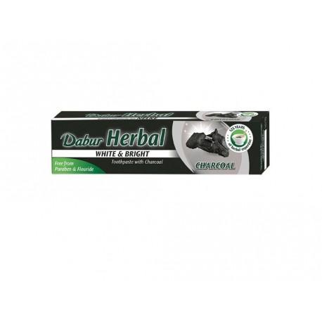 Zubní pasta Dabur Bělící s aktivním uhlím, 100 ml/130 g