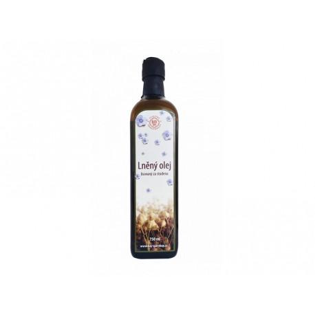 Olej lněný, 750 ml