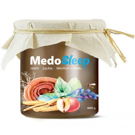 MedoSleep - reishi, jujuba a lékořice v medu | MycoMedica