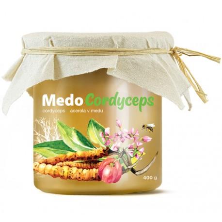 MedoCordyceps - cordyceps a acerola v medu | MycoMedica
