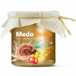 MedoReishi - reishi a acerola v medu | MycoMedica