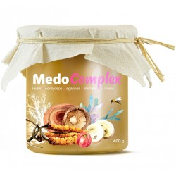 MedoComplex - reishi, cordyceps, agaricus, shiitake a acerola v medu | MycoMedica
