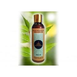 AYURSAVEDA Šampon & kondicioner neem a aloe vera, 200 ml