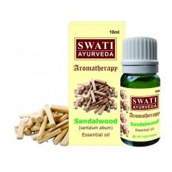 Swati Esenciální olej Santalové dřevo, 10 ml