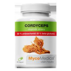 Cordyceps 50 % ve vysoké koncentraci