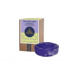 AYURSAVEDA Ájurvédské mýdlo v krabičce LEVANDULE, 100 g