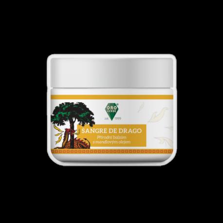 Sangre de Drago s bambuckým máslem, mandlovým olejem a včelím voskem - přírodní balzám - 50 ml