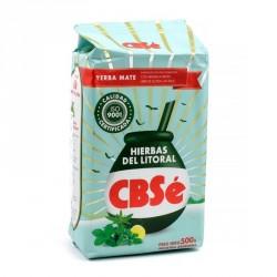 Yerba Mate CBSé Hierbas Del Litoral 500 g