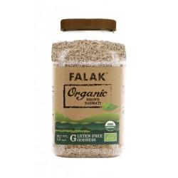Přírodní hnědá organická basmati rýže Falak 1,5kg