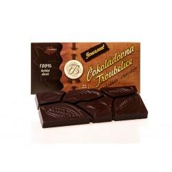 Čokoláda hořká 100% GOURMET, 45g