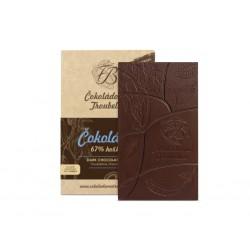 Čokoláda hořká 67% s kokosem, 45 g - EDICIÓN NUEVA