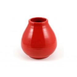 Keramická kalabasa PERA červená / KA-49