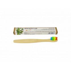 Bambusový dětský zubní kartáček měkký