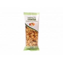 MINOS Ořechová tyčinka - Lískový ořech a med, 50 g