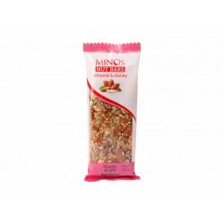 MINOS Ořechová tyčinka - Mandle a med, 60 g