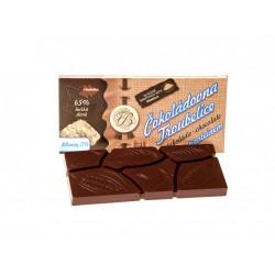 Čokoláda hořká 65% s PROTEINEM, 45 g, Čokoládovna Troubelice