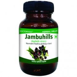 Jambuhills, 60 kapslí, hladina glukózy v krvi