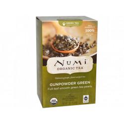 Numi čaj bio Zelený Gunpowder, 18 sáčků